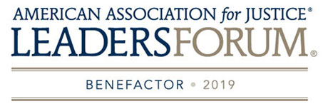 American Association for Justice Leaders Forum Benefactor - 2019