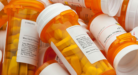 Bottles of Drugs