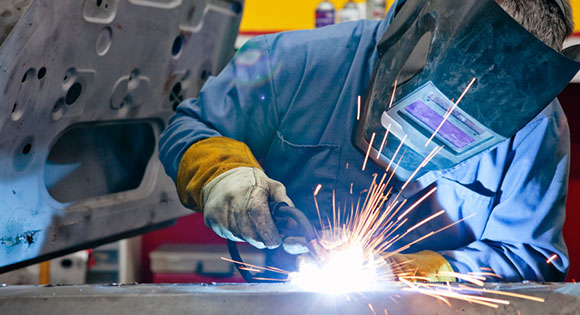 Welding in the workplace